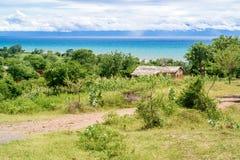Landscape at the lake Malawi Royalty Free Stock Images