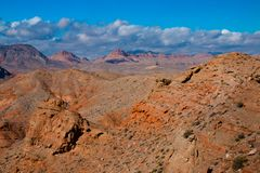 Landscape in Lake Mead National Recreation Area, USA. Landscape in Lake Mead National Recreation Area, Nevada, USA stock photos