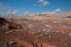 Landscape in Lake MeadNational Recreation Area, USA. Landscape in Lake Mead National Recreation Area, Nevada, USA stock photography