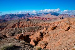 Landscape in Lake MeadNational Recreation Area, USA. Landscape in Lake Mead National Recreation Area, Nevada, USA royalty free stock photo