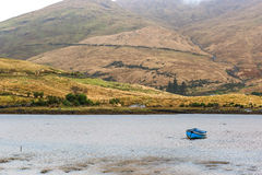 Landscape of a lake and mountains Royalty Free Stock Image
