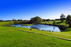 Landscape. Lake landscape during spring season royalty free stock photo