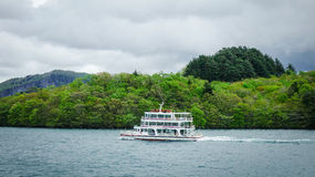 Landscape of Lake Towada in Aomori, Japan Stock Photo
