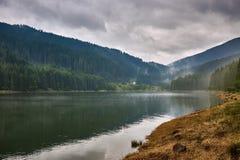 Lake Vidra in Romania Royalty Free Stock Photography