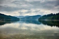 Lake Vidra in Romania Royalty Free Stock Photos