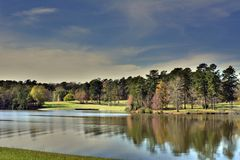 Landscape - Lake royalty free stock photography