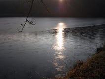 Landscape of lakes, South Bohemia Stock Photo