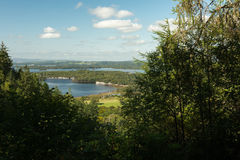 Landscape lakeview Stock Photography