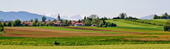 Landscape. In Bavaria Royalty Free Stock Photos