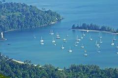 Landscape of Langkawi island, Malaysia Stock Photos