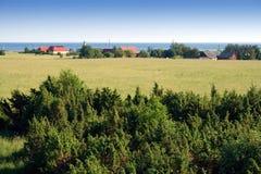 landscape lantligt Arkivfoton