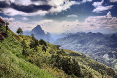 Landscape of laos Royalty Free Stock Photography