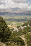 Landscape at Lasithi Plateau in Crete. Greece Stock Images