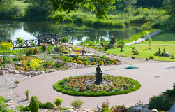 Landscape, Lawn Royalty Free Stock Photo