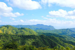 Landscape of layer mountain Stock Photo