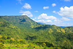 Landscape of layer mountain Royalty Free Stock Image