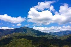 Landscape of layer mountain Stock Photos