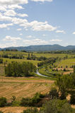Landscape between Lazio and Umbria Royalty Free Stock Image