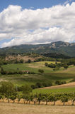 Landscape between Lazio and Umbria Royalty Free Stock Photos