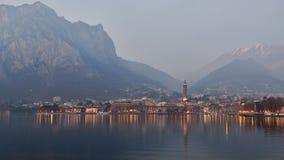Landscape of Lecco Stock Photos