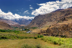 Landscape of Leh, Ladakh, Jammu and Kashmir, India Royalty Free Stock Photos