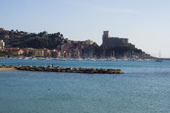Landscape of lerici Royalty Free Stock Photo
