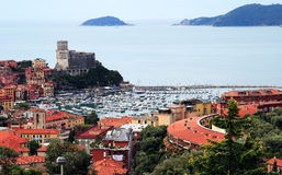 Landscape of lerici Stock Photo
