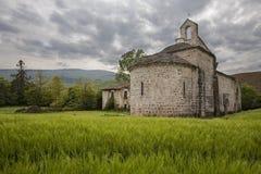 Landscape Lete. Sunsetlandscape from Lete, Navarra, Spain Royalty Free Stock Photography