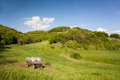 Landscape at the Leuchtenburg Royalty Free Stock Photos
