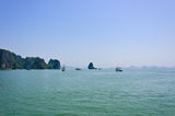 Landscape of lHalong bay Stock Photo