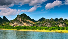 Landscape of li jiang Stock Photo
