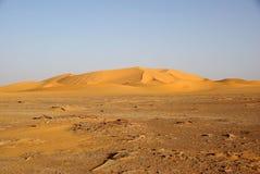Landscape in Libya Stock Photography