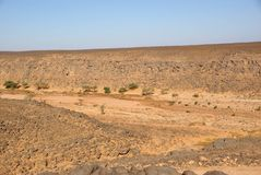 Landscape in Libya Royalty Free Stock Photography