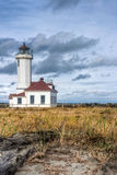 Landscape of lighthouse at Point Wilson Stock Photos