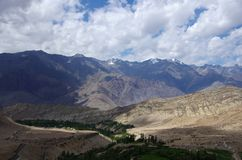 Landscape in Likir, in Ladakh Stock Photography