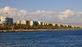 Landscape from limassol bay Stock Photo