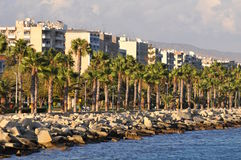 Landscape from limassol bay Royalty Free Stock Photography