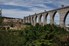Landscape of Lisboa, Portugal Royalty Free Stock Photography