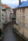 Landscape of little Prague Venice Stock Images