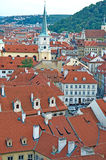 Landscape of the Little Quarter in Prague Royalty Free Stock Photography