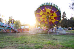 Landscape of Local Carnival Stock Photo