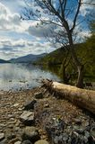 Landscape and the loch. Loch tay Stock Images