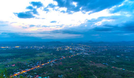 Landscape loei city Stock Photo