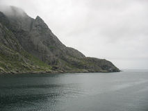 Landscape in the Lofoten islands Royalty Free Stock Photos