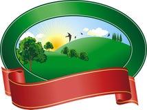 Landscape logo Stock Images