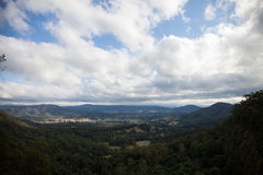 Landscape from lookout. At Mt Glorious Stock Photos