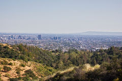 Landscape of Los Angeles Stock Photography