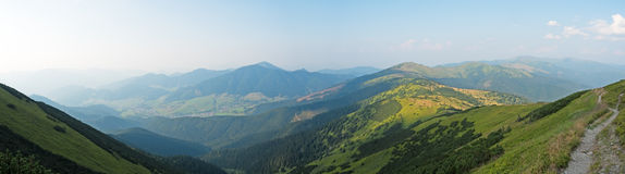 Landscape in the Low Tatras Royalty Free Stock Images