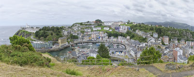Landscape of luarca Royalty Free Stock Image