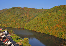 Landscape in Luxembourg near Vianden Royalty Free Stock Photo